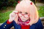 Megane it's so cute! by Witchiko
