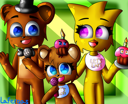Freddica Family ( COMMISSION ) by Lafergas