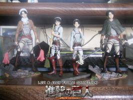 Levi and Eren Figure Collection by Levi-Ackerman-Heicho