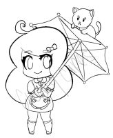 Bee and Puppycat WIP by CuddlyCapes