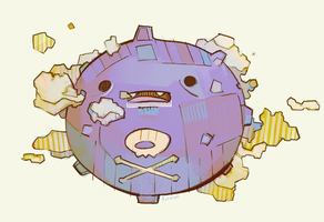 Koffing by michaelfirman