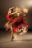 flame dance by robinpika