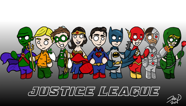 Justice League 1 by ZacAvalanche