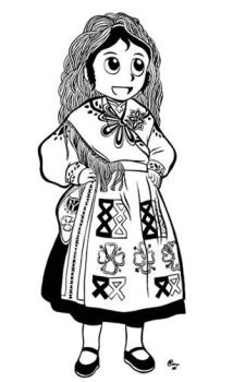 Jacinta in Traditional Dress by dsouzamitchelle