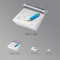 Icons. CAD Application by KriGH