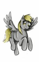 Derpy sketch by RyuuLight