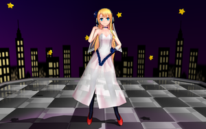 MMD - Sweet Ann and the stars by emmystar