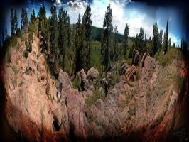castlewood canyon, co by y-f-s