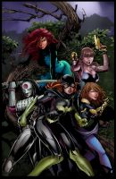 Birds Of Prey by PlasmaGrunt