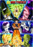 DBM- Goku's enemies_ V2 by DBZwarrior