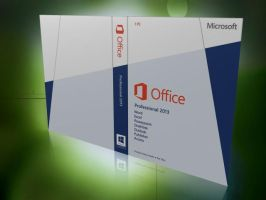 Office 2013 Box Art for ESD Channel - R1 by adijayanto