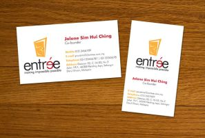 Entree - Business Cards by kimmchi