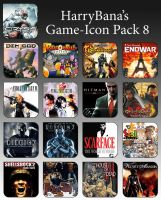 Game Aicon Pack 8 by HarryBana