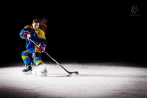 Ice hockey - solo #2 by thornycro