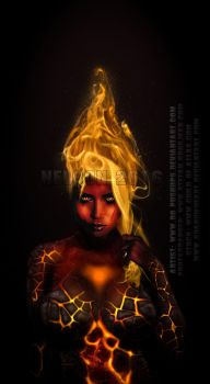 Lilly Roma  Fire Lady by dopushups
