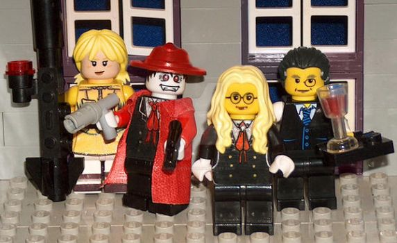 Lego Hellsing by Mou-Deviant