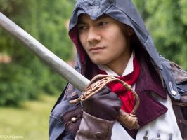 Inflamed / AC Unity Arno Dorian Cosplay by KADArt-Cosplay