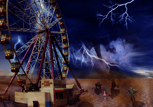 Freaky Fairground by undeadsmarties