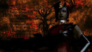 Aion - We Drink Your Blood (character - Alanis) by Qewerka