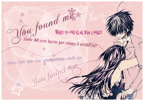 You found me ..::header::.. by xUsako