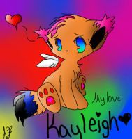 Kayleigh's Fursona by inuyashalover204