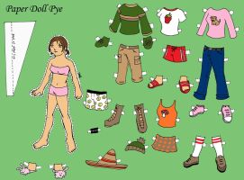 Paper Doll Pye by fadetag