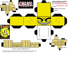 smiley the pcychotic button cubee by lovefistfury