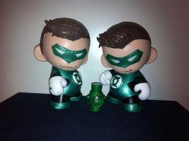 Green Lantern Munnies a.k.a Green Munterns! by GeekyPanda515