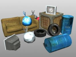 3D Models Group 1 by JOPPETTO