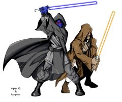 Vipers Jedi I Coloured by lusiphur