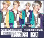 Pack Png #01 - Park Jung Min [SS501] by GirlHana