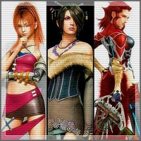 Final Fantasy Women by DarkMagicianQueen