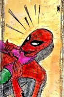 Quick Spider-man sketch... by nikoskap