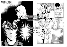 :ES21 doujinshi: ShinxSena by 4-th