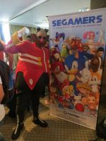 Eggman at the Expo Classic Gaming Argentina by ViluVector