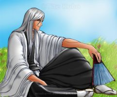 Bleach Resting Ukitake -Color by Beltxa