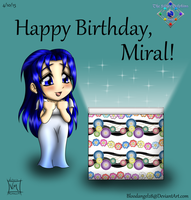 Happy Birthday, Miral! by BloodAngel28