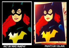 New 52 Batgirl by ChibiCelina