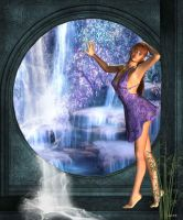 Water fall by crys-laura