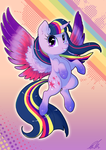 Rainbow Powered Twi by C-Puff