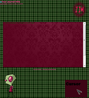 Zim Journal Skin by DemsRaid