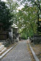 Pere Lachaise Cemetery by Avaloniteaa