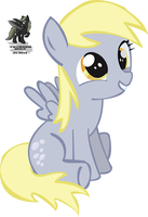 Filly Derpy Hooves Vector by Thund3r-Bolt