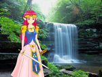 The legend of Teto waterfall by R-Wolf76