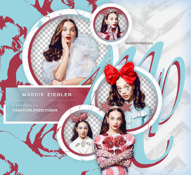PACK PNG 663 | MADDIE ZIEGLER. by MAGIC-PNGS