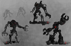 Robot Movie concepts by adamski1616