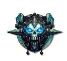 Death Knight Logo Render by yousam
