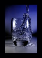 _glass_of_water_ by macro-art