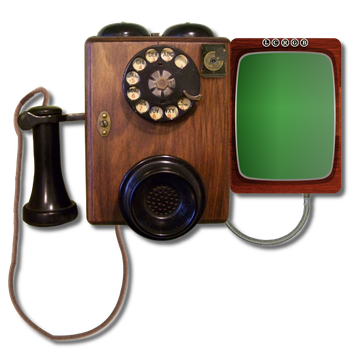 Steampunk Victorian Video Conference Icon by pendragon1966