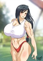 Tifa for elee0228 by bernalilo